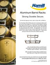 Aluminum Barrel Racks
